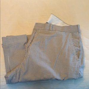 Men's seersucker dress pant